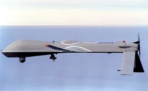 One of the unmanned drones in the growing U.S. arsenal