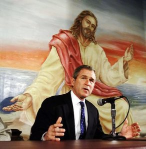 george-bush-and-jesus