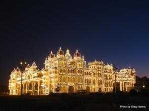 Mysore Palace - 7pm Sunday