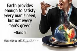 Gandhi Greed