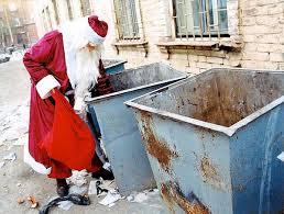 Santa garbage