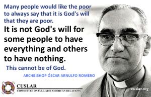Romero poverty