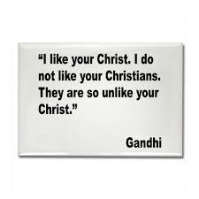 Gandhi:Jesus